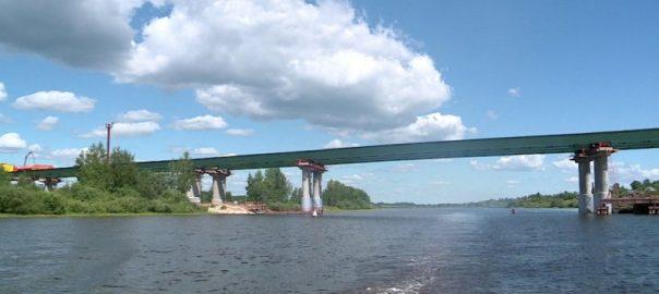 Novii most cherez reku Volhov