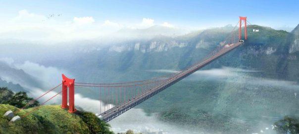 Samii visokii most v mire postroen v Kitae